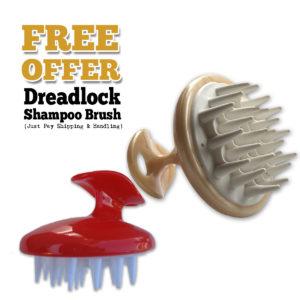 free dreadlock shampoo brush