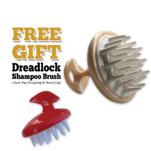 free shampoo brush scalp massager