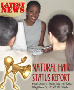 hair relaxer sales plummet?