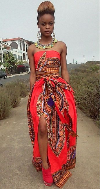 ankara fashion body romper
