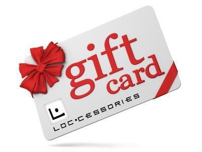 Gift card to Loccessories store for curls, coils, kinks & locs