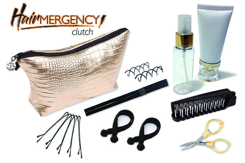 Hairmergency Rescue Clutch for Natural Hair (travel)