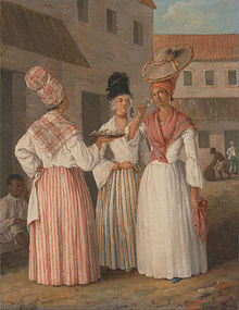 Tignon Law Forces Womon of Color to cover their hair - Early America