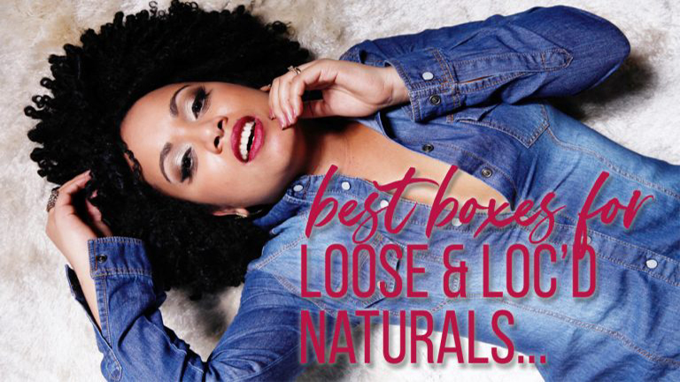 best subscription boxes or locs & natural hair