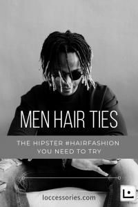 Mens Hair Ties Hipster Hair Fashion
