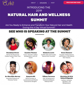 K. Hill interview with CurlKit Natural Hair Summit
