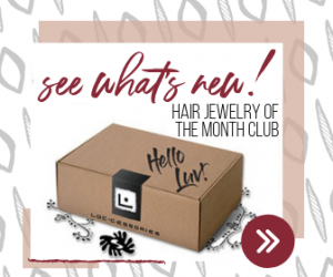 hair jewelry of the month club - join now:)