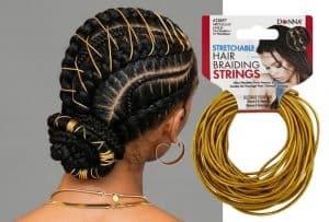 hair braid string for cornrows