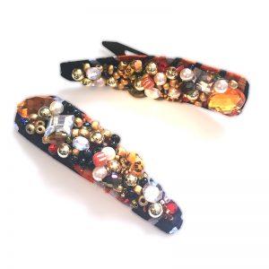 ankara embellished flexi hair clip giveaway