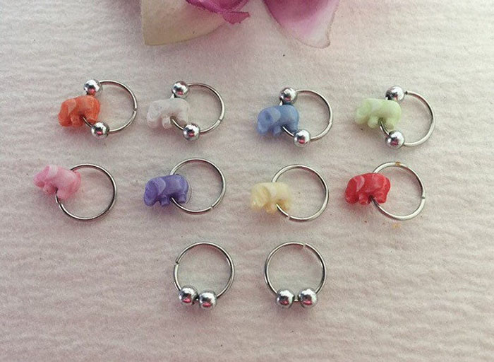 hair rings jewelry for braids