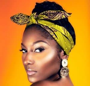 ankara print headband scarf