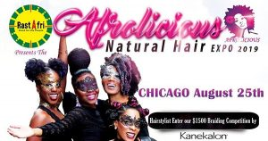 essories at afrolicious chicago hair expo 2019
