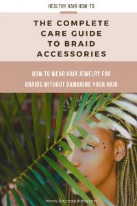 women with braids peeking through palm leaves