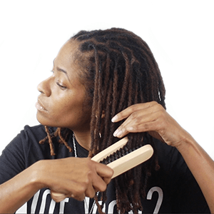 loc brushing demonstration how-to