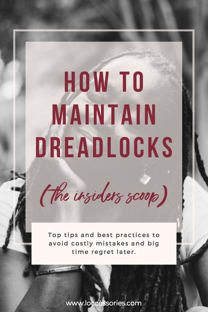 how to maintain dreadlocks on pinterest