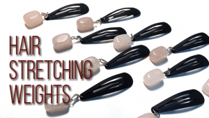 natural hair stretching weights
